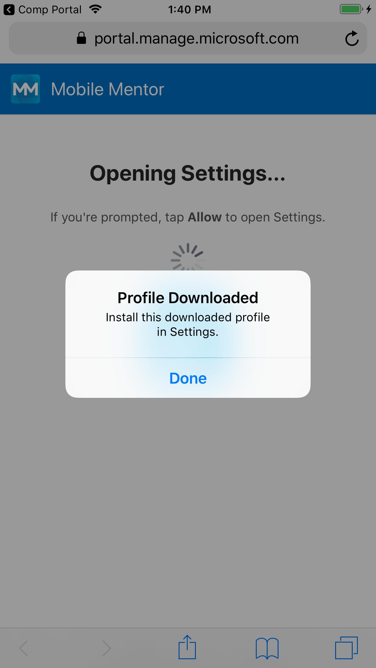 iOS 12 1 3 (beta 4) changes to MDM enrolment workflow - Apple iOS